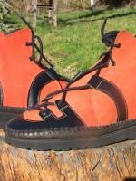 Chaussure tout terrain orange