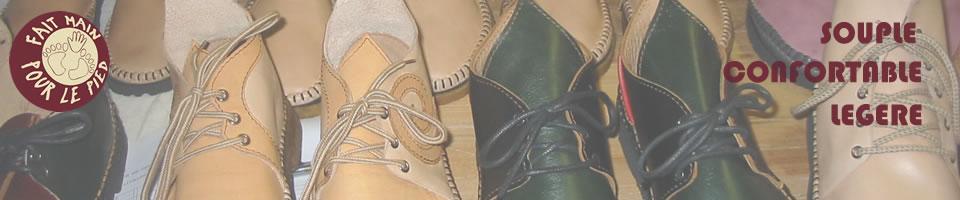 Chaussures artisanales sur mesure